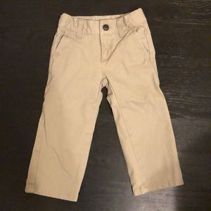 Janie and Jack twill pants 2T